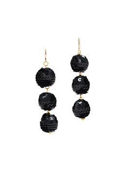 Black Cher Earrings by Mad Jewels