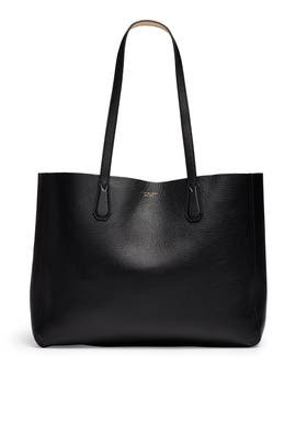 Black Perry Tote by Tory Burch Accessories