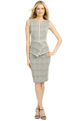 Hello Gorgeous Peplum Dress by Lela Rose