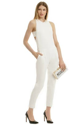 Paper Cut Jumpsuit by Trina Turk