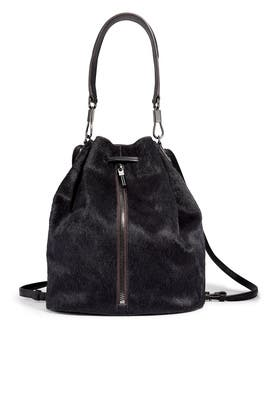 Black Cynnie Sling Bag by Elizabeth and James Accessories