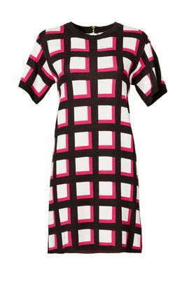 Windowpane Dress by kate spade new york