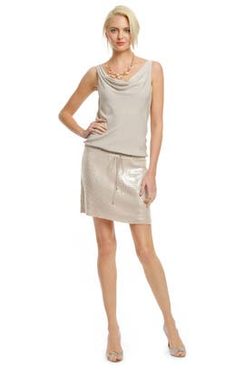 Diane von Furstenberg - Tadd Sequin Skirt Dress