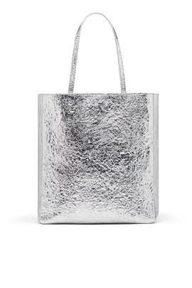 Silver Eloise Tote by Elizabeth and James Accessories