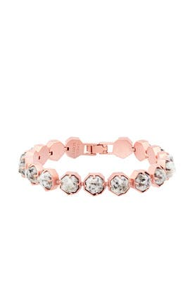 Rose Gold Lace Bracelet by Kendra Scott
