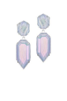 Lace Agate Perla Earrings by Kendra Scott