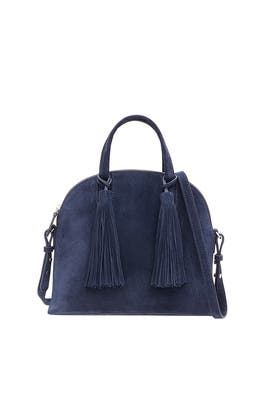 Eclipse Suede Dome Satchel by Loeffler Randall