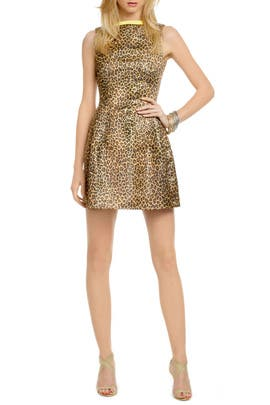 Purfect Leopard Dress by MSGM