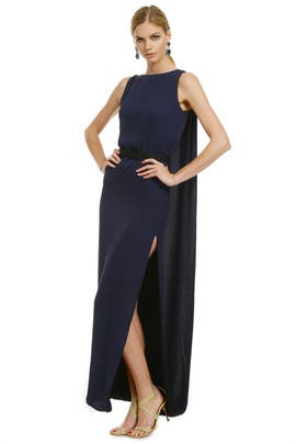 Halston Heritage - Night Raven Gown