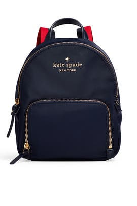 Navy Small Hartley Backpack by kate spade new york accessories