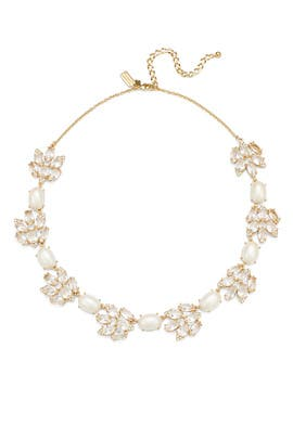 Pearl and Crystal Statement Necklace by kate spade new york accessories
