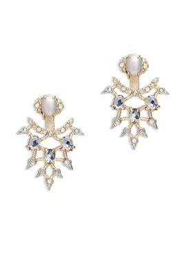 Crystal Lace Ear Jacket by Alexis Bittar