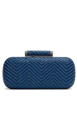 Cobalt Catalina Minaudiere by Inge Christopher