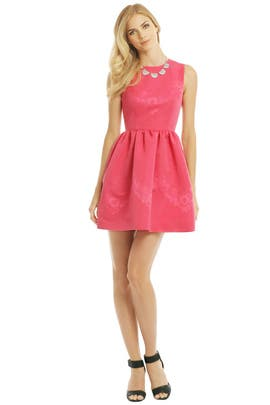 RED Valentino Sip of Rose Dress