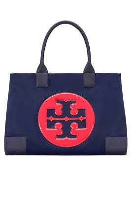 Colorblock Nylon Ella Tote by Tory Burch Accessories