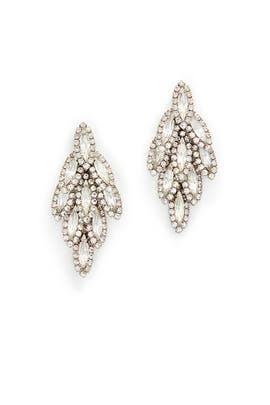 Bacall Earrings by Elizabeth Cole