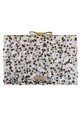 kate spade new york accessories - Salt and Pepper Emanuelle Clutch