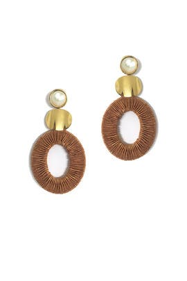 Harvest Moon Earrings by Lizzie Fortunato