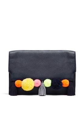 Navy Sofia Clutch by Rebecca Minkoff Handbags