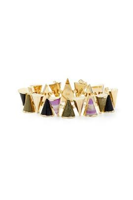 Cosmic Mini Cone Bracelet by Sarah Magid