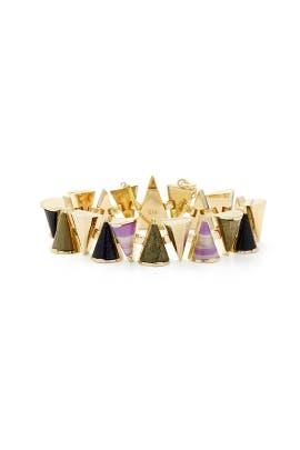 Cosmic Mini Cone Bracelet by Sarah Magid