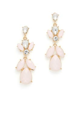 Blush Stone Earrings by Slate & Willow Accessories