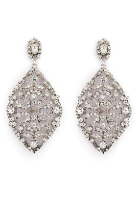 Showstopper Earrings by Badgley Mischka Jewelry
