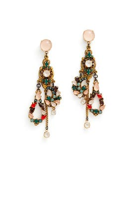 Love At First Sight Earrings by Erickson Beamon