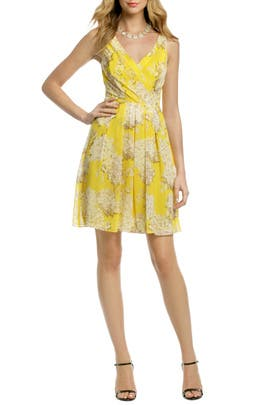 Trina Turk - Canary Hydrangea Dress