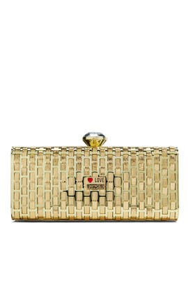 Love Moschino Accessories - Yellow Brick Road Clutch