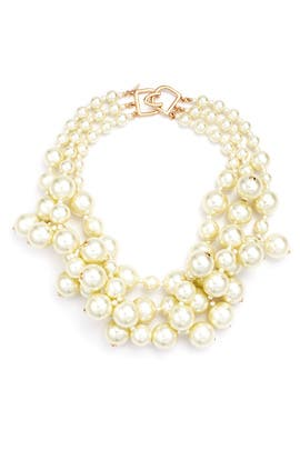 Diana Pearl Necklace by Kenneth Jay Lane