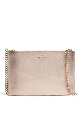 Rose Gold Sima Clutch by kate spade new york accessories