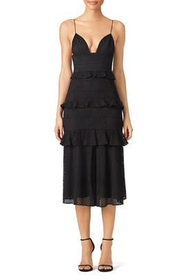 Black Eyelet Sofia Dress by Cushnie Et Ochs