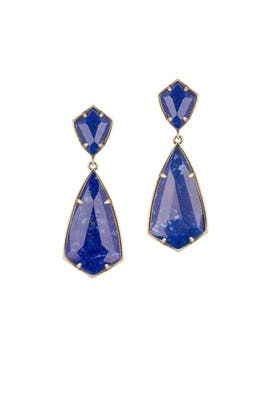 Lapis Carey Earrings by Kendra Scott