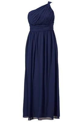 Navy Bacall Gown by Donna Morgan