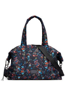 Floral Nylon Weekender Bag by Rebecca Minkoff Accessories