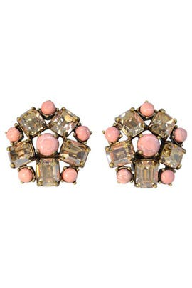 Garden Party Earrings by Badgley Mischka Jewelry