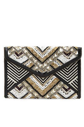 Wonder Leo Clutch by Rebecca Minkoff Accessories