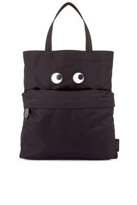 Black Eyes Tote by Anya Hindmarch