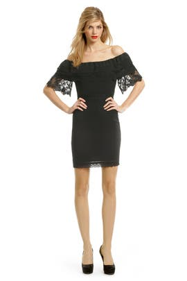 Alice by Temperley - Black Lace Whispers Dress