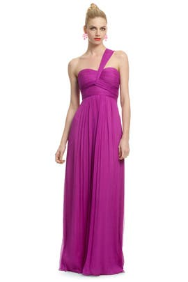 Carlos Miele - Magenta Orchid Gown
