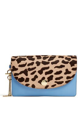 Saddle Evening Clutch by Diane von Furstenberg Handbags