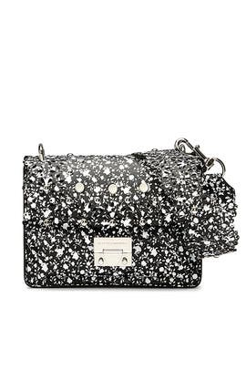 Black Multi Christy Bag by Rebecca Minkoff Accessories