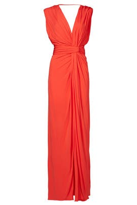Side Plunge Gown by Vionnet