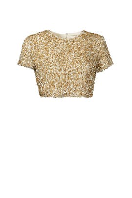 Badgley Mischka - Gold Dust Top