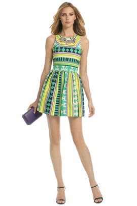 MSGM - Ikat Wait to Dance Dress