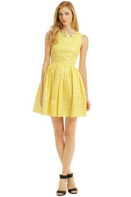 allison parris - Maize Julia Dress