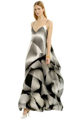 Mixed Up Maxi by Halston Heritage