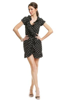 Moschino Cheap And Chic - Ruffle Wrap and Dance Dress