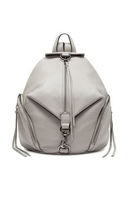 Grey Julian Backpack by Rebecca Minkoff Accessories